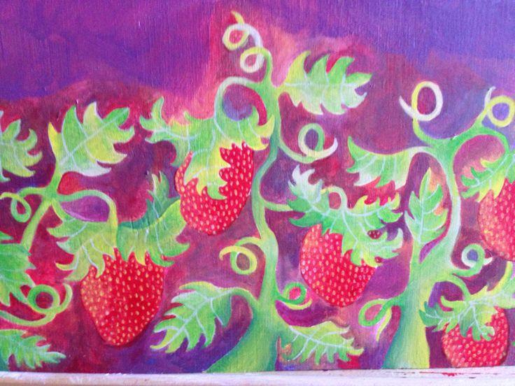 Strawberries by L. Arjona