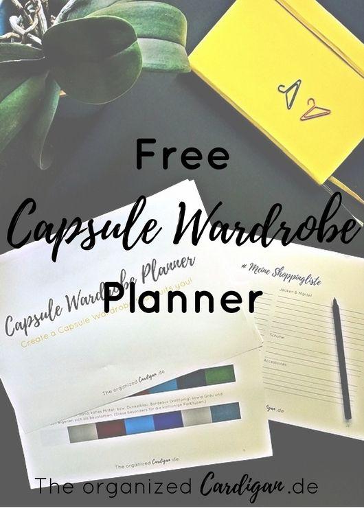 **FREE Capsule Wardrobe Planner** In meinem 26seitigen Capsule Wardrobe Planner zeige ich dir, wie du dir deine eigene Capsule Wardrobe so zusammen stellst, dass sie genau zu dir und deinen individuellen Vorlieben und Bedürfnissen passt. Hast du Lust auf einen minimalistischen Kleiderschrank? Dann hol dir dein Freebie jetzt! #capsulewardrobe #minimalismus #fashion