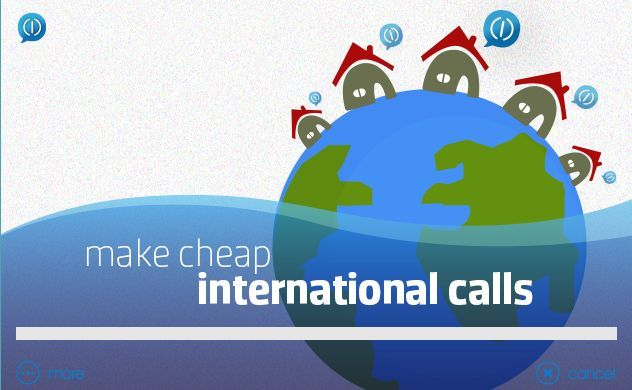 cheap international call with SoftSim!