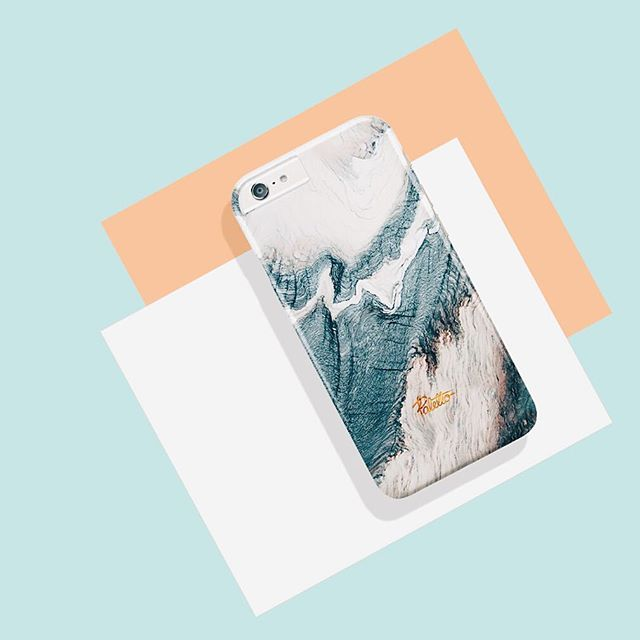 """""""Winter""""  Marble Phone Case. Available for iPhone 6/6s, 6/6s plus, 5/5s/5c, SE & Samsung galaxy S5, S6, S7."""