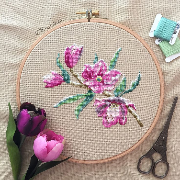 Cross stitch, kanaviçe
