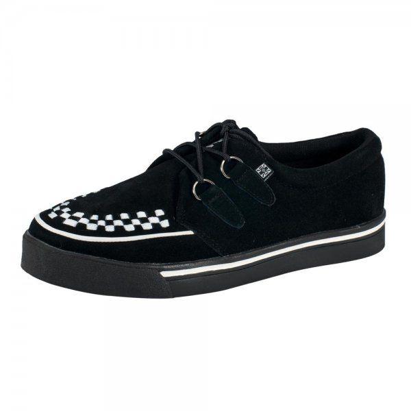 Original Creepers Shoes Tuk | ... Shoes › T.U.K. Shoes Creeper Sneaker Originals Black Suede