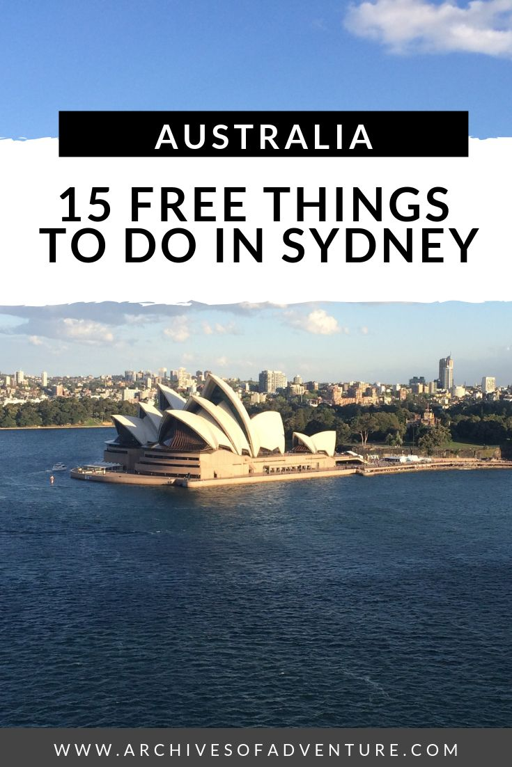 15 Free issues to do in Sydney, Australia