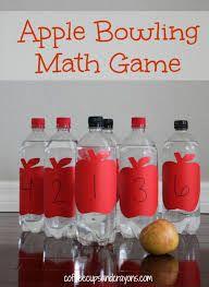 Gebruik deze soort bowling om bewerkingen in het eerste leerjaar in te oefenen. Je kan er ook de maaltafels mee laten oefenen op een actieve manier.