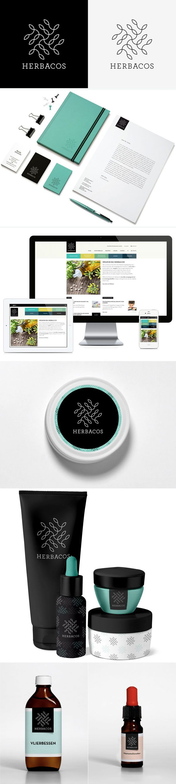 Herbacos #Identity #Packaging #Design