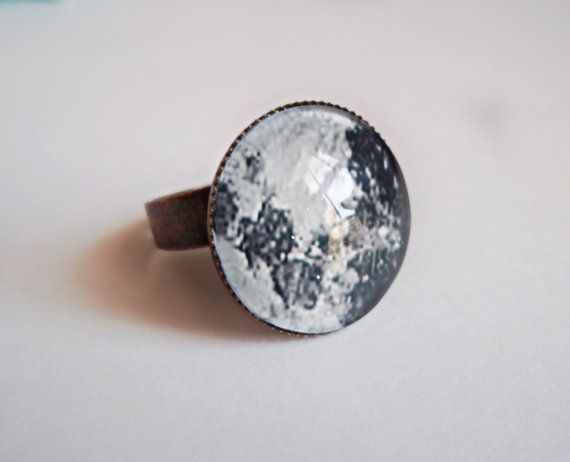 Full Moon Ring by kreepshowkouture on Etsy, $6.99
