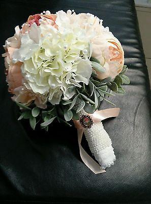 vintage Brautstrauß aus hochwertigen Blumen  Designer Hochzeisdekoration