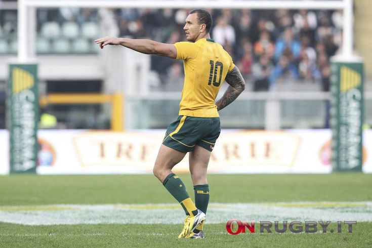 On Rugby Quade Cooper, lo stop per l'infortunio è lungo 16 settimane » On Rugby