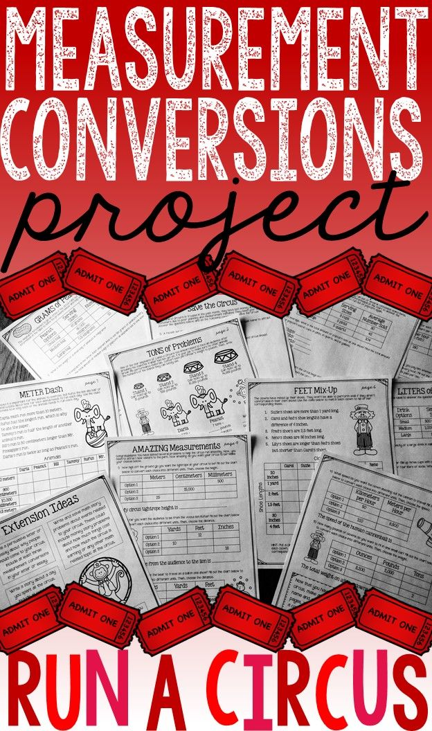 Measurement Conversions Project: This 10 page project was created to extend measurement conversion understanding and connect measurement conversions to real-life. {Customary System, Metric System, Time Conversions, Multi-step Problems}
