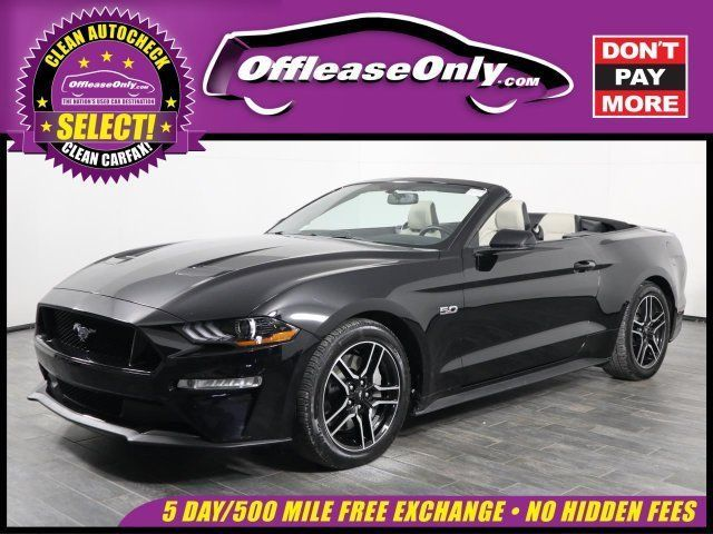 Mustang Gt Lease >> Ebay Mustang Gt Premium Off Lease Only 2018 Ford Mustang Gt