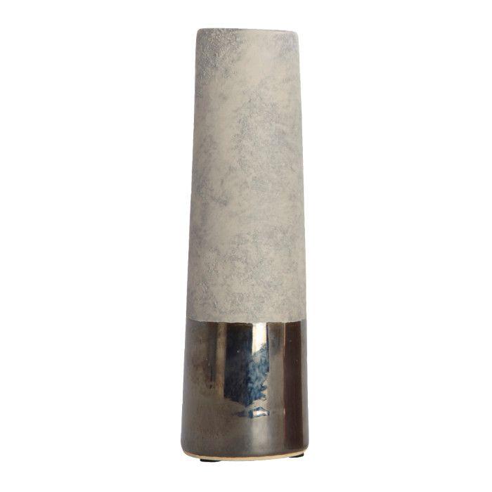 http://mooseartdesign.pl/pl/nowosci-moose/wazon-perl-tube-house-doctor-detail Wymiary: sze:6cm x wys:20cm Materiał: biała glina,szkliwo