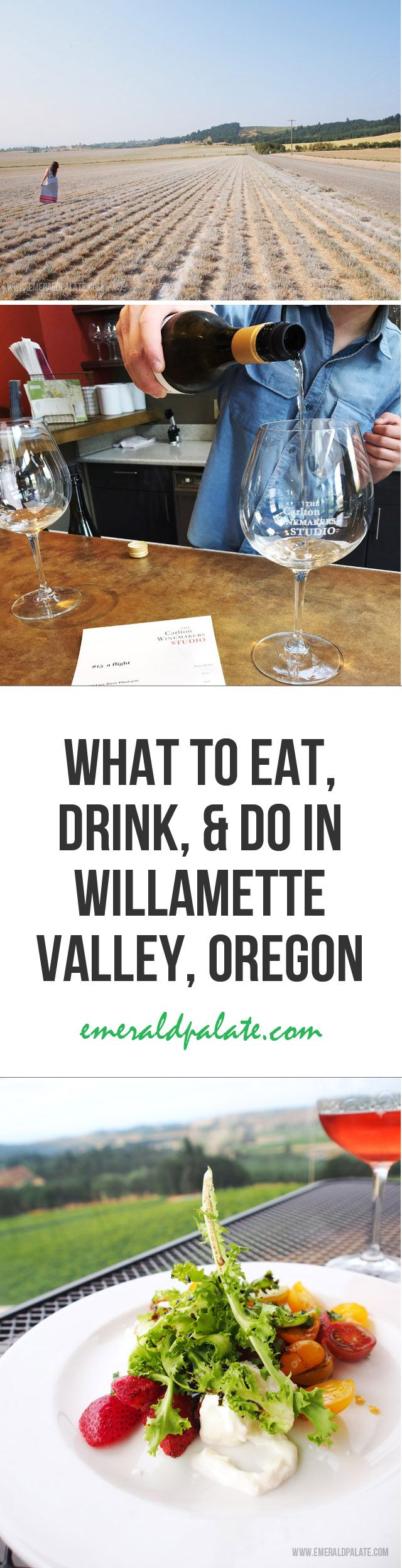 What to eat, drink, and do in Oregon's Willamette Valley wine region. It outlines the best wineries near Portland, restaurants, shops and boutique or unique hotels in Oregon.
