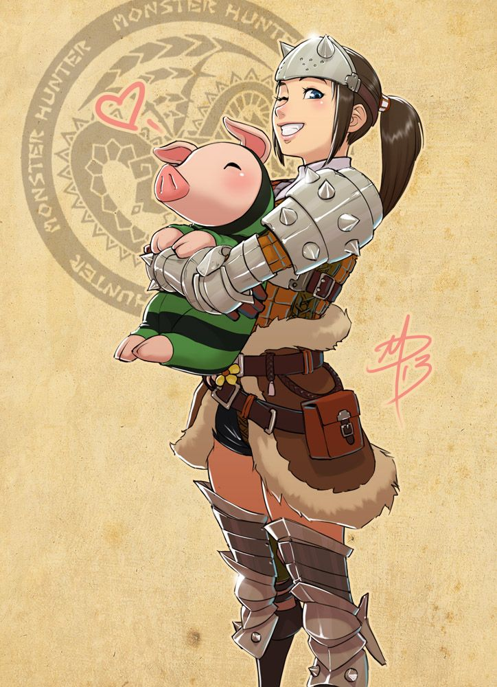 Monster Hunter - For Luck:) by polarityplus on DeviantArt