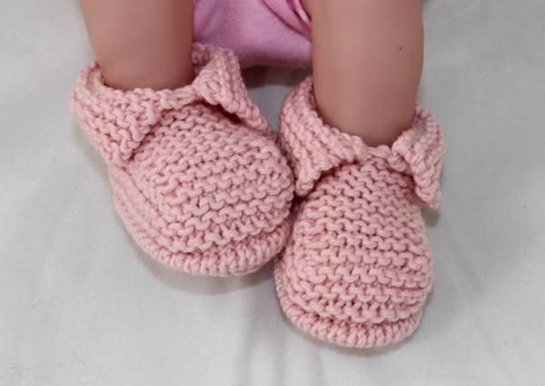 These booties are worked flat on 2 normal knitting needles size 3 mm in any dk (8ply) yarn of your choice. These fantastic booties are really quick and easy to make and look great on any newborn baby. The knitting pattern provides full instructions for 4 sizes XS, (premature – tiny baby), S (small newborn) M,(average newborn) and L (big newborn) and there are lots of step by step photos to help you throughout.