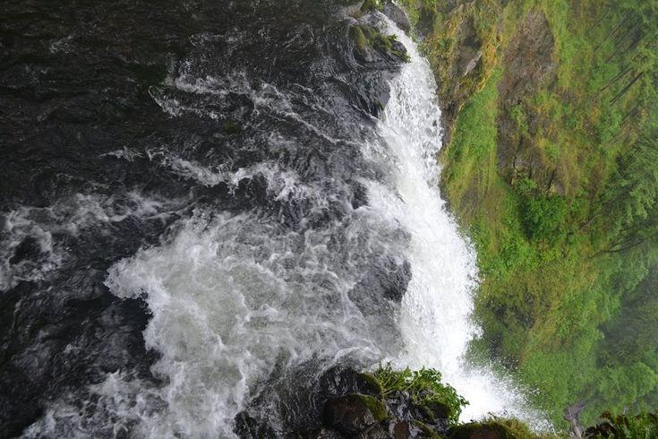 Водопад Малтнома, штат Орегон (Multnomah Falls, OR)