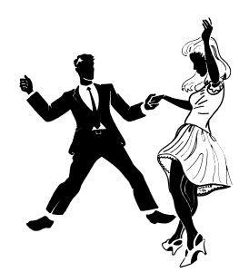 Yo nunca bailo porque me no le gusta trabajo.