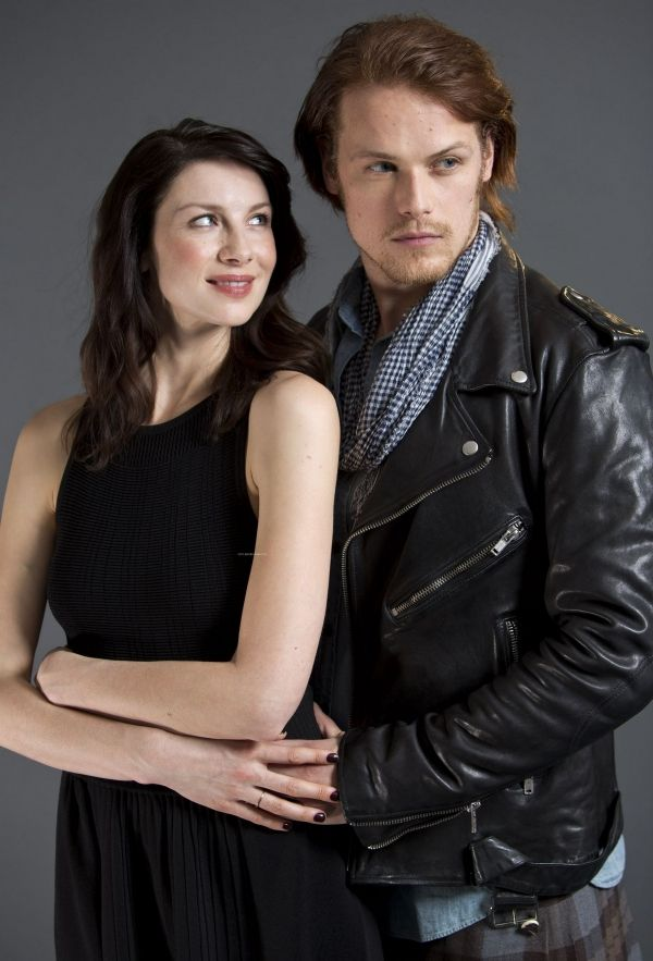 pattymama: ladyduchovny: Sam Heughan & Caitriona Balfe Always loved this.