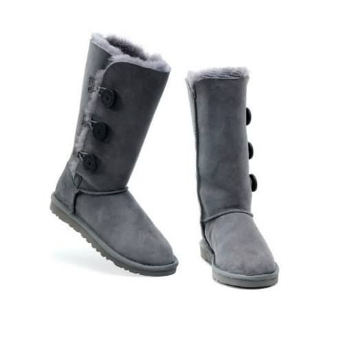 BOTAS DE NIEVE AUSTRALIANAS TRIPLE BUTTON