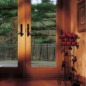 Andersen 60 In. X 80 In. 400 Series Frenchwood White Hinged Inswing Patio  Door