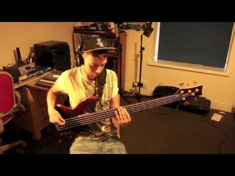 The Weeknd - The Zone - Cover on electric bass by Ben Tunnicliffe,originally from the Thursday album.