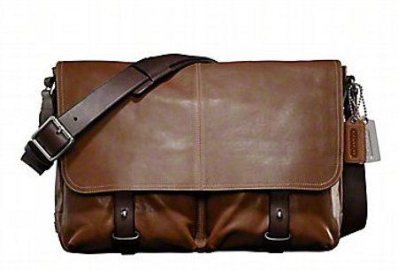 Coach Men Leather Messenger Bag  A want. perhaps end of the year. @SGD 550 it's a steal, for this class of product. but again, #bata has some nice designs at SGD 70 +    >