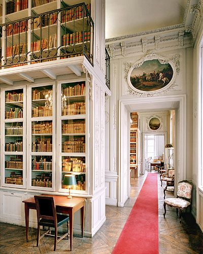 Bibliothèque Ecole Militaire à Paris,France (cw23)
