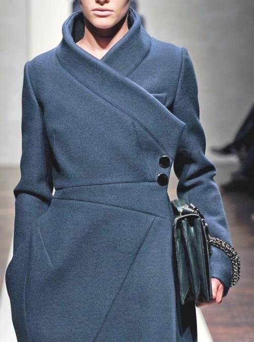 a structured trench