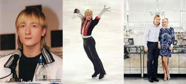 Russian Sports Star Evgeni Plushenko in Childhood and Youth
