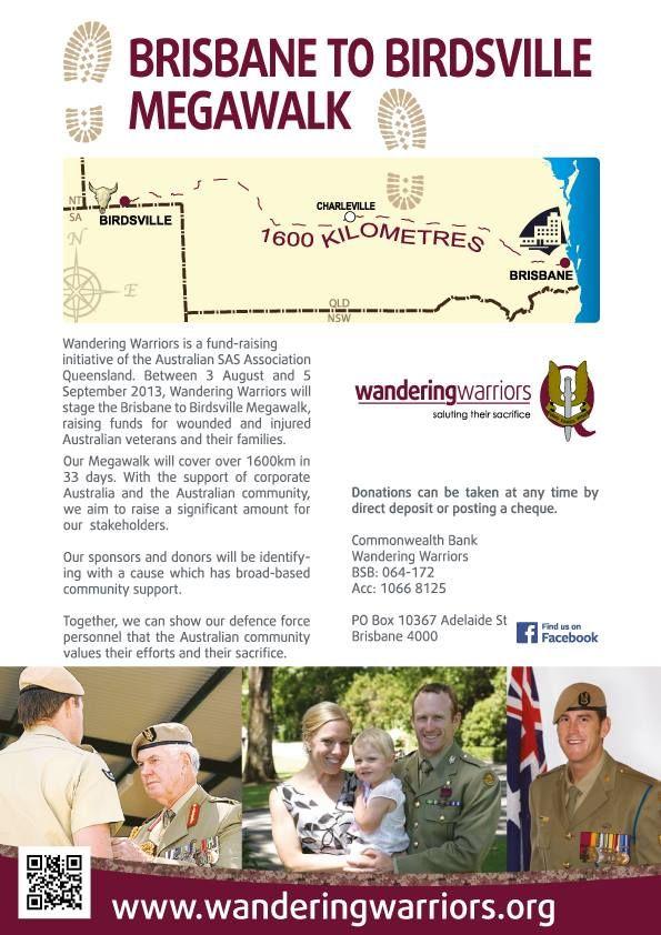 Wandering Warriors - Poster design
