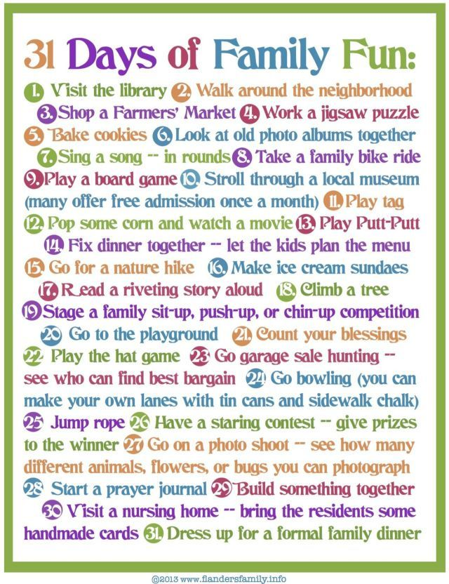 30 best Family Fun images on Pinterest   Family fun activities, Game ...