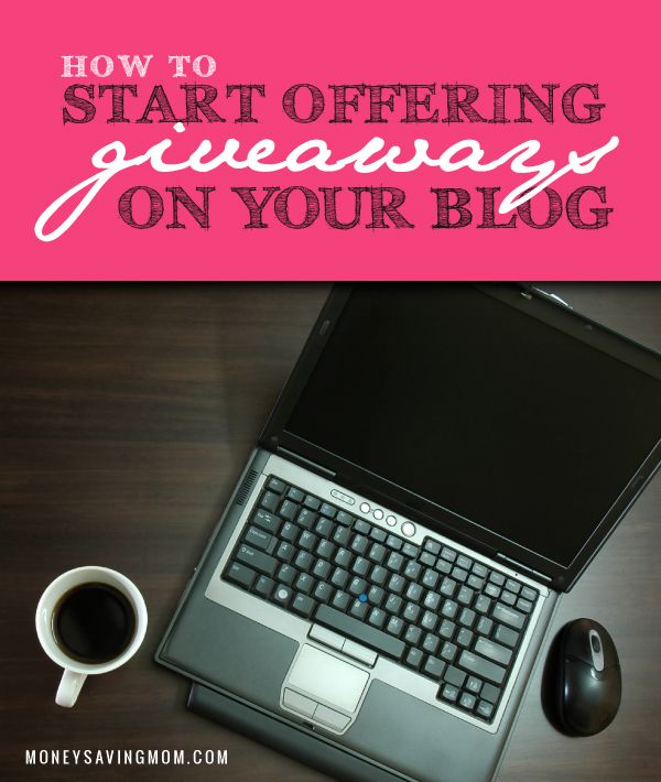 "A question I have heard over and over during the past few years is: ""How do I start offering giveaways on my blog?"" I get the impression that many new bloggers think you must have a big blog or super secret sources in order to host giveaways on your blog. Here are four simple ways to get started offering blog giveaways."