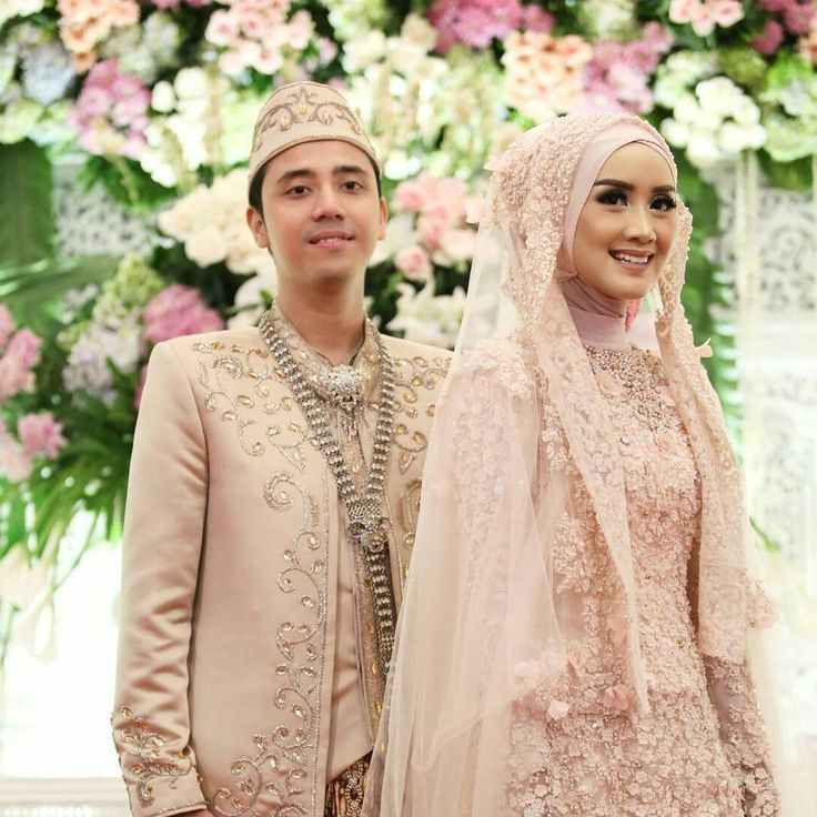 Hijab Wedding Inspiration by @nike_nadia