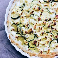 Zucchini-Feta-Quiche
