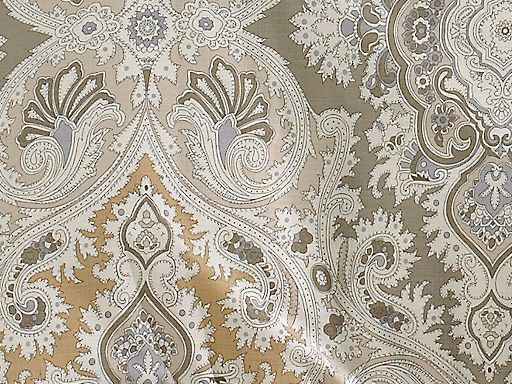 Echo Odyssey Pattern & Colors - calming, earthy neutrals of mushroom, cashmere and cream. The sophisticated paisley of the Odyssey bedding collection provides an understated elegance for any bedroom.