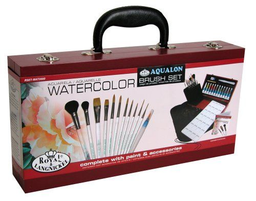 Royal & Langnickel Aqualon Watercolor Painting Box Set Royal & Langnickel www.am…