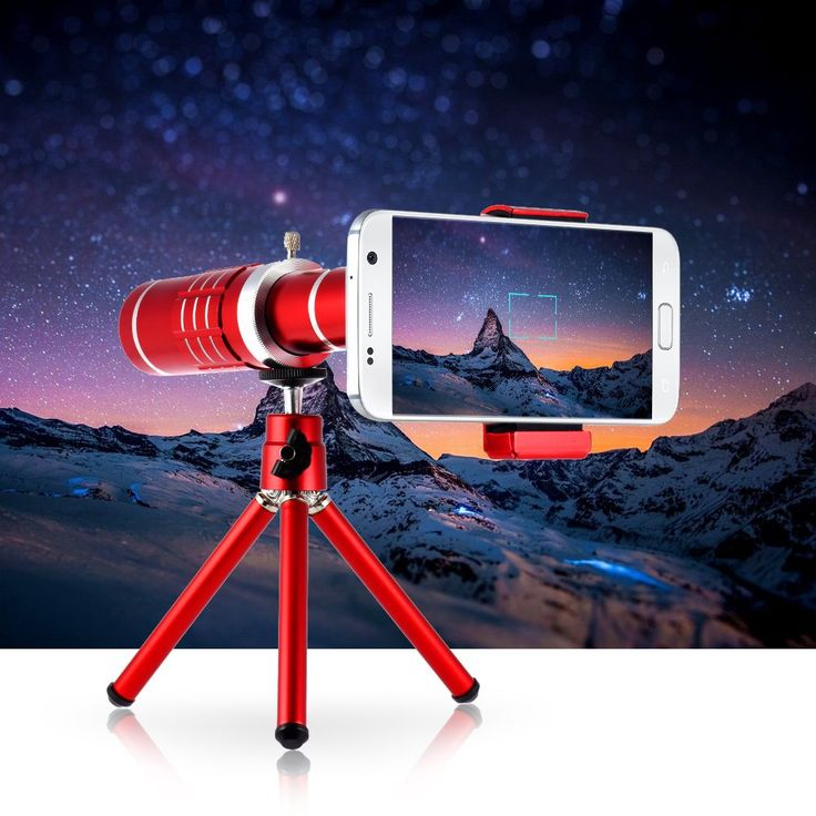 For iPhone Samsung HTC Telephoto Camera Lens with Mini Tripod Fashion Universal 18X Zoom Phone Lens Photography Accessory //Price: $24.67//     #onlineshop