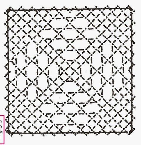Voici le 29ème carré que vous propose Dominique, il est réalisé en fond la rose et fond torchon.           Si vous réalisez un ouvrage avec ...