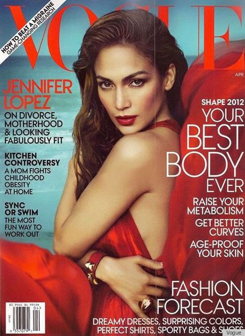JLo on Vogue: Magazine Covers, J Lo, Fashion, Jennifer Lopez, Jlo, April 2012, Vogue Covers, Jenniferlopez