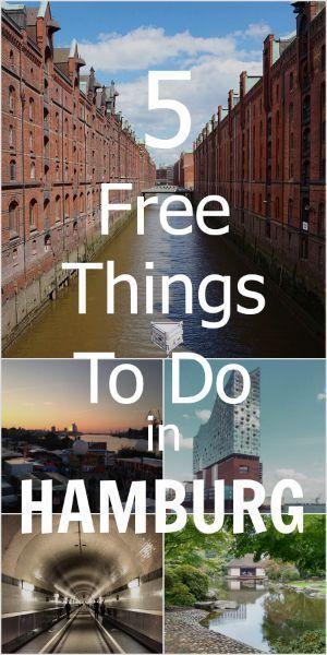 Auf Entdeckungsreise in Hamburg. Hier ein paar kostenlose Tipps.