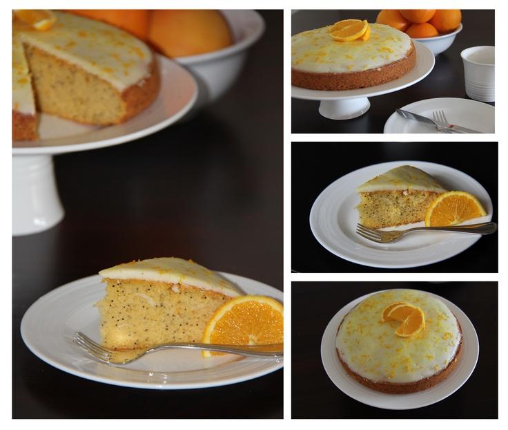 Orange Poppy-seed Cake