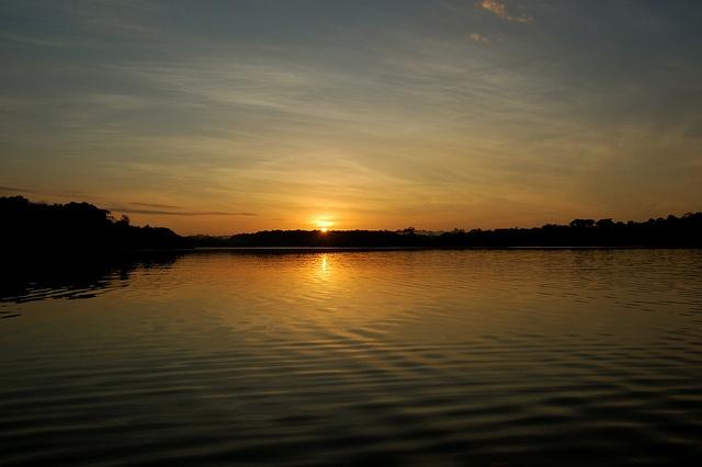 Amazon sunrise, by adventuresinbrazil.com via Flickr.