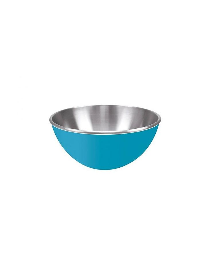 RVS schaaltje aqua blauw 16 cm - KitchenHugs