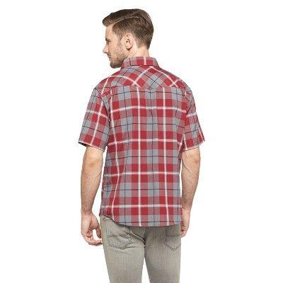 Dickies Men's Classic Fit Shirt - Aged Brick Xxxl, Red