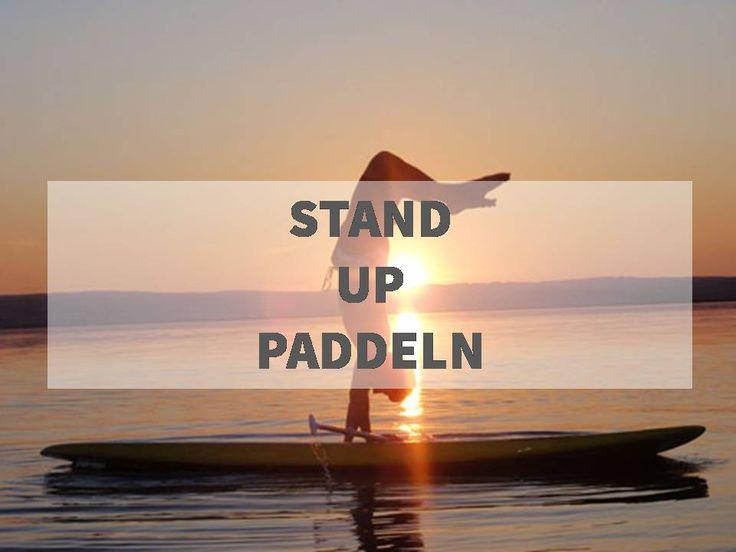 Stand up paddeln - der ultimative Sommersport! Mehr dazu im OneFit Blog.