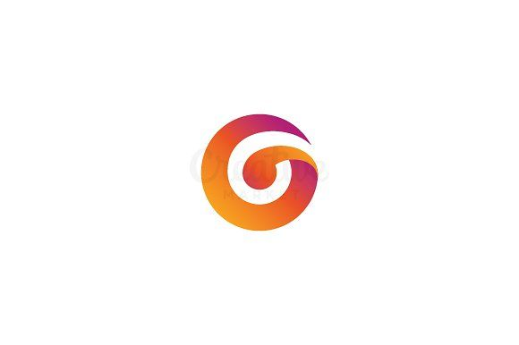 Letter G Logo by nospacestore on @creativemarket