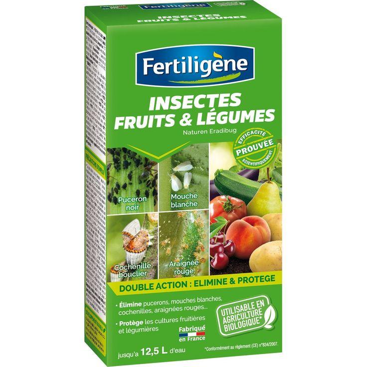 Traitement Des Insectes Potager Et Fruitiers Fertiligene Pour Potager Et Verger Insecticide Fruits Et Legumes Insectes