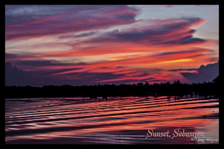 Sunset taman nasional sebangau