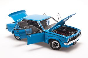A73478 - HOLDEN LH TORANA SLR/5000 L34 OPTION - AZURE BLUE (1974) - Biante Model Cars