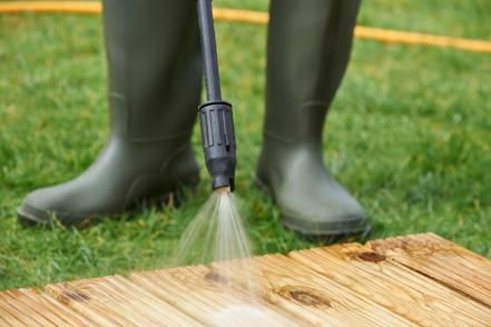 If you love a good before and after, then prepare to fall in love with pressure washing. Here's how to get it done quickly, safely and efficiently.