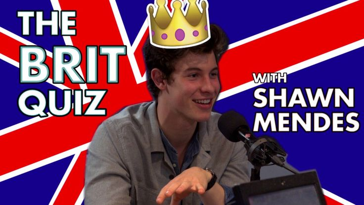 The Brit Quiz with Shawn Mendes! Aww the best thing ever!!